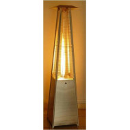 Chauffage Pyramidal Parasol  Keops (gaz) & Eclairage