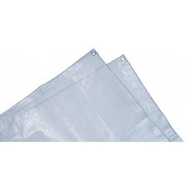 Bache de protection armée transparente 4 x 6M
