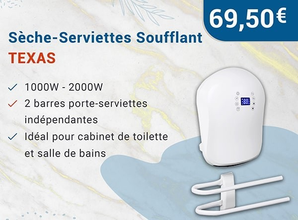 Sèche-Serviettes Soufflant