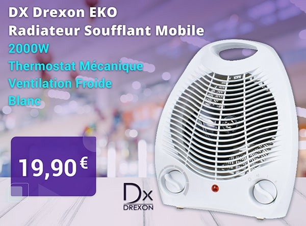 Radiateur Soufflant Mobile