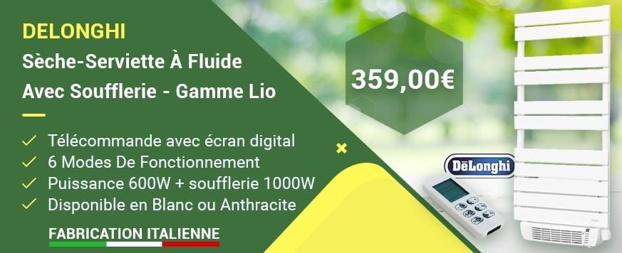 Sèche-Serviette À Fluide Avec Soufflerie - Gamme Lio