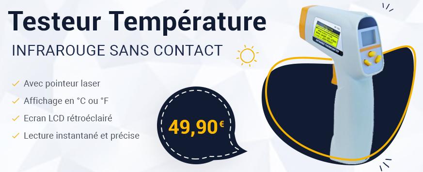 Testeur de température sans contact